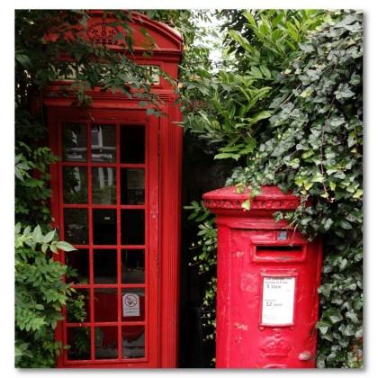 Αφίσα (τηλέφωνο, τηλεφωνικός θάλαμος, Λονδίνο, αξιοθέατο)